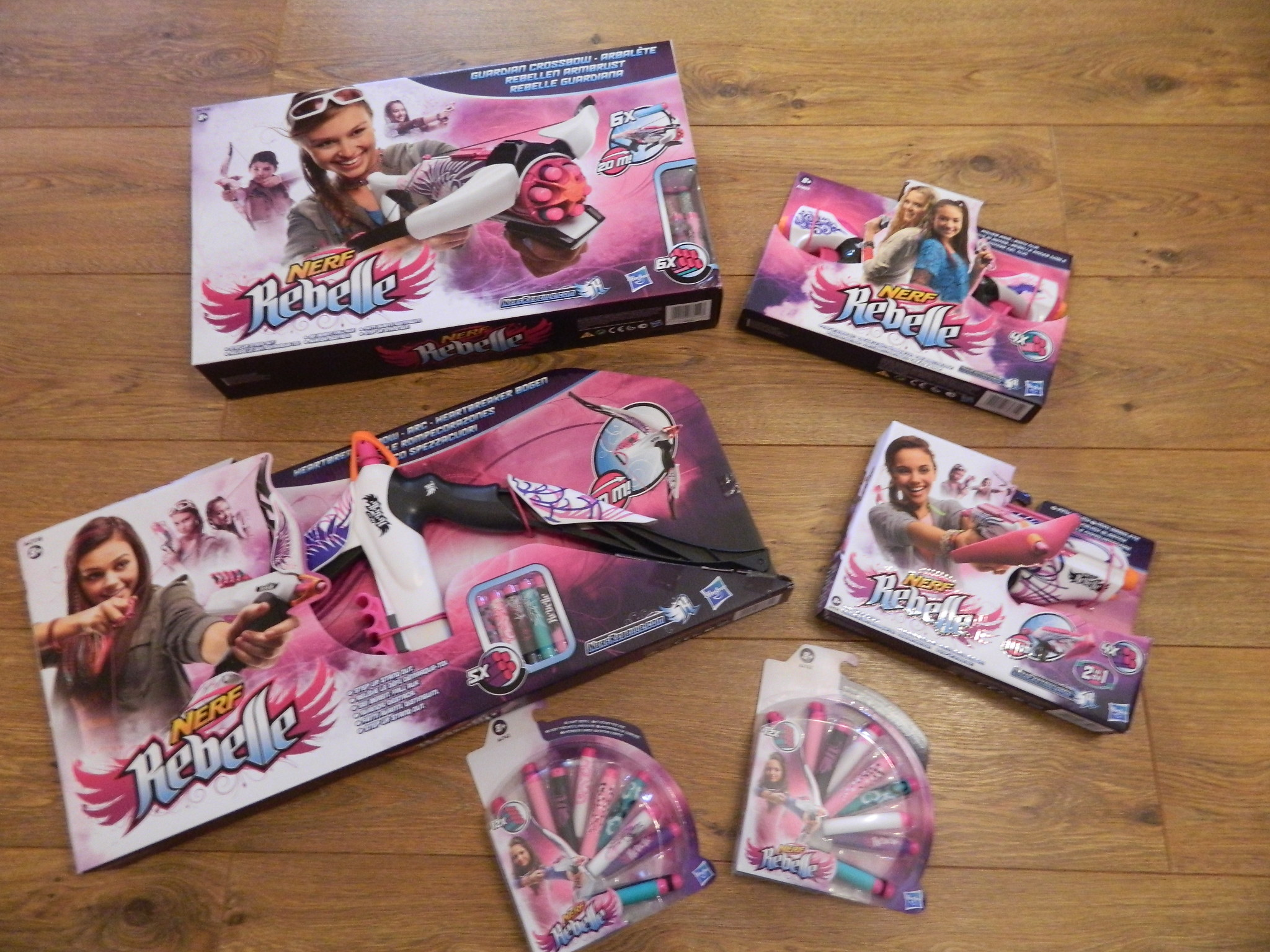 nerf rebelle collection