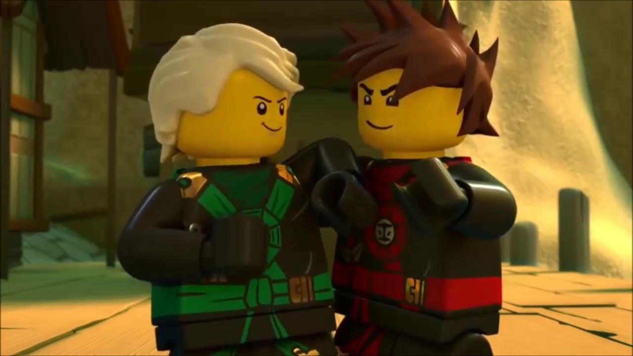 ninjago kai and lloyd
