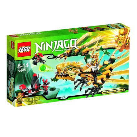 ninjago le dragon d or