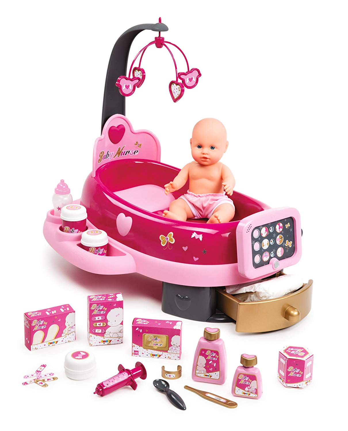 nursery électronique baby nurse smoby