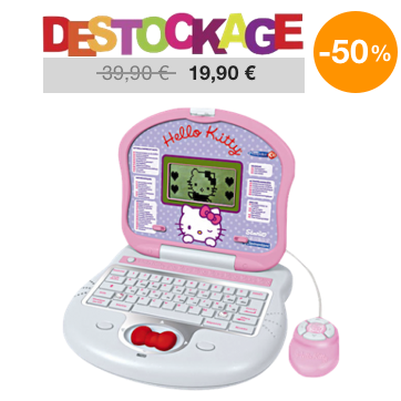 ordinateur educatif hello kitty