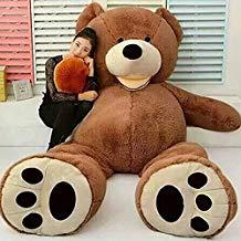 ours en peluche 2m