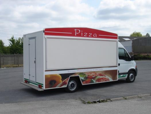 ouvrir camion pizza