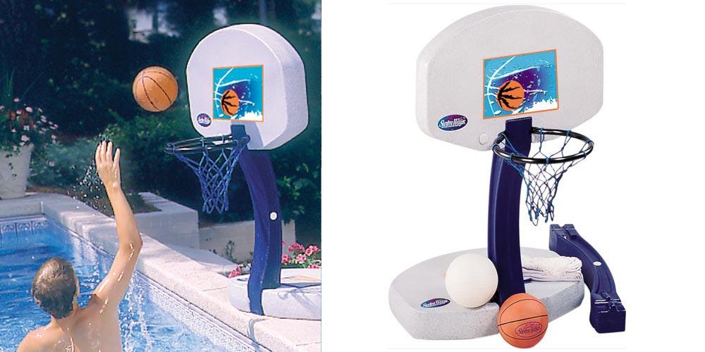 panier de basket piscine