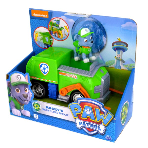 pat patrouille figurine camion