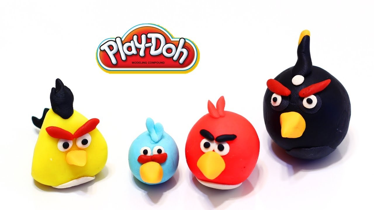 pate a modeler angry birds