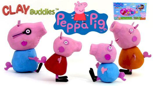 pate a modeler peppa pig cochon