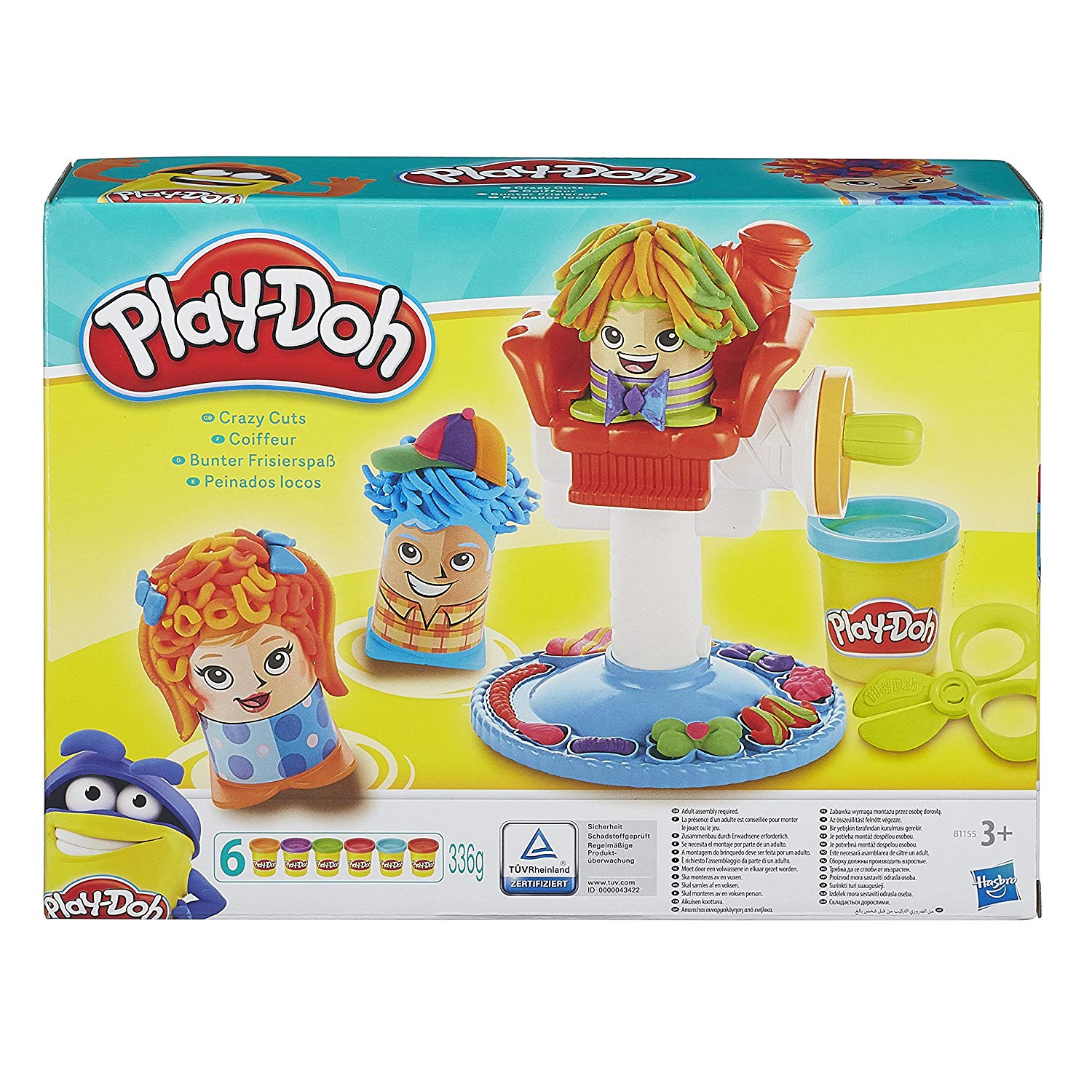 pate a modeler play doh coiffeur