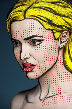 peinture sur visage