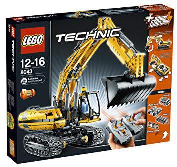 pelleteuse lego technic 8043