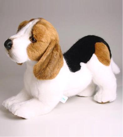 peluche beagle chien
