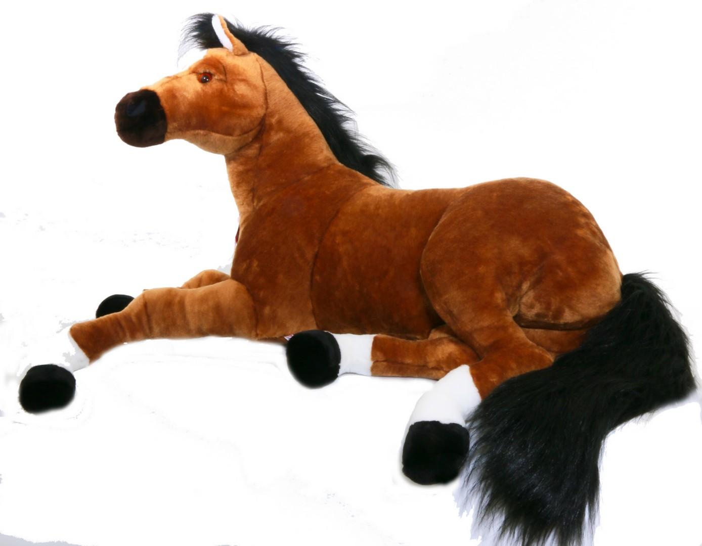 peluche cheval géante