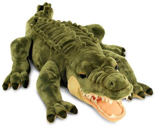 peluche crocodile
