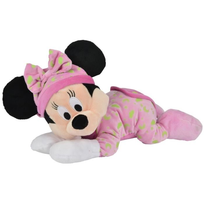 peluche minnie fluorescente