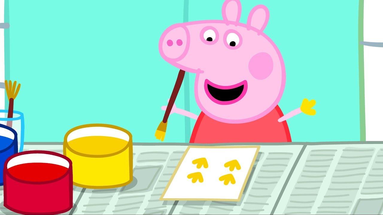 peppa pig peinture