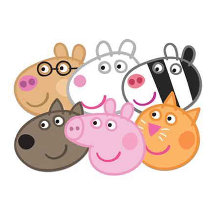 personnage de peppa pig