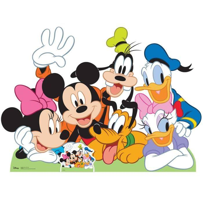 personnage mickey et ses amis