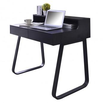 petit bureau noir