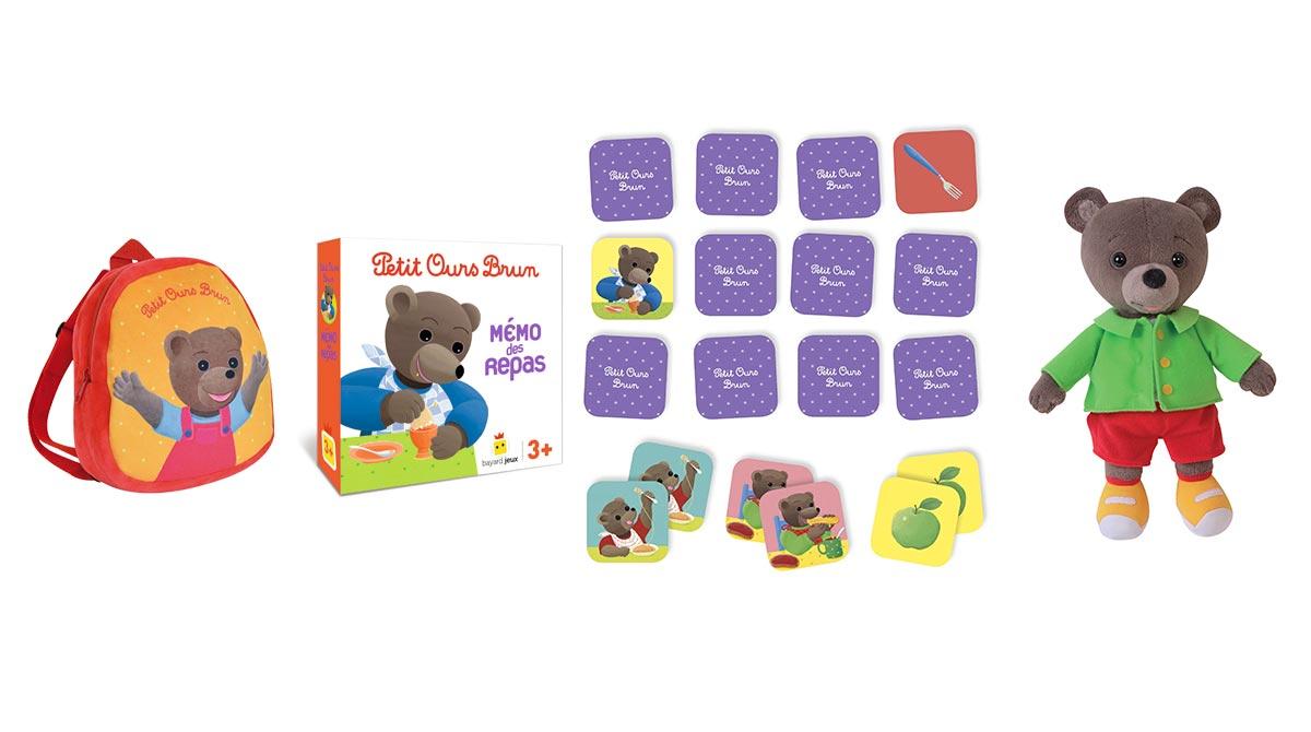 petit ours brun jouet