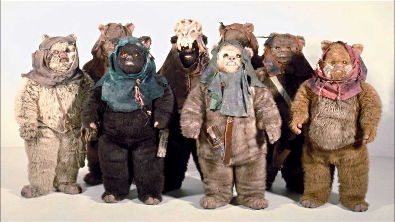 petit ours star wars