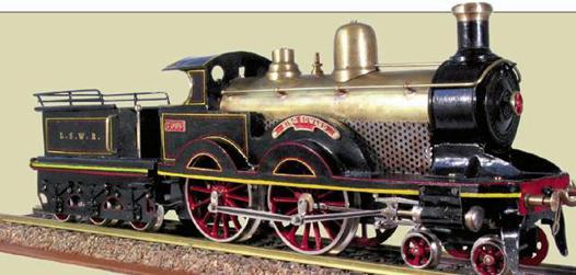 petit train a vapeur jouet