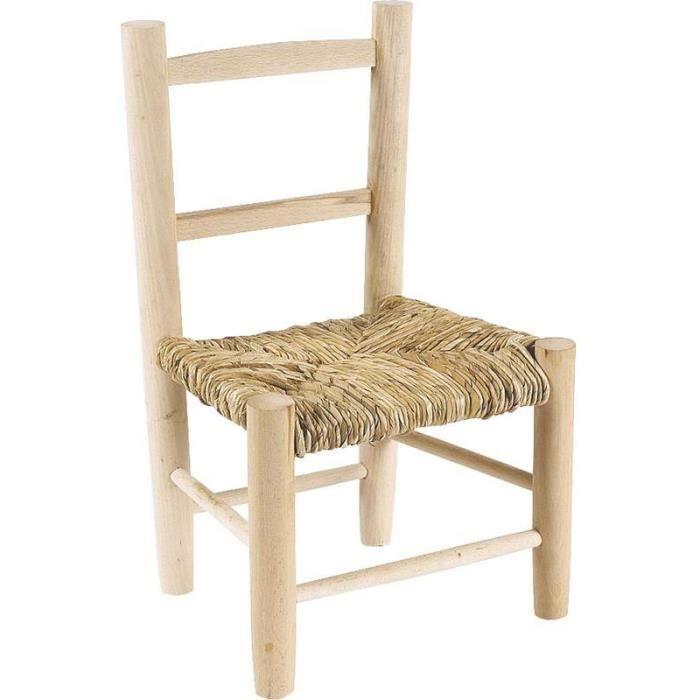 petite chaise en bois bébé