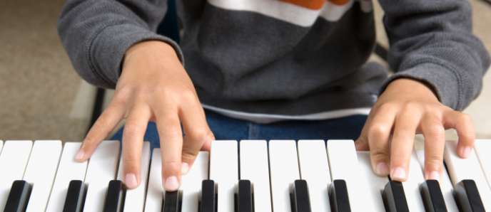piano apprentissage