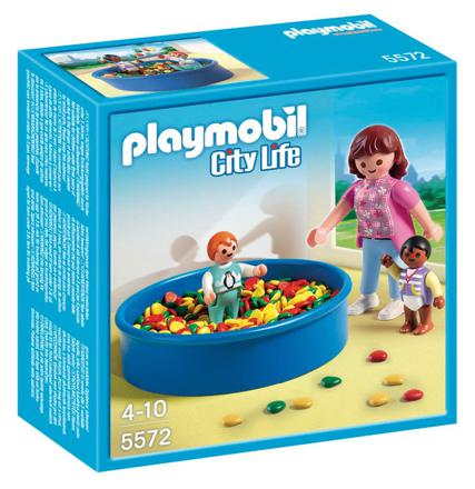 piscine a balle playmobil