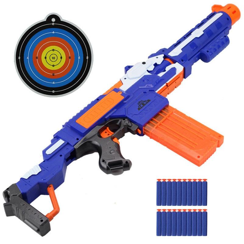 pistolet avec cible