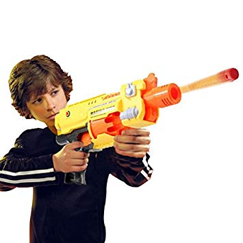 pistolet bille mousse