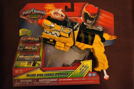 pistolet dino charge