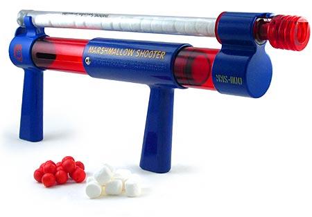 pistolet marshmallow