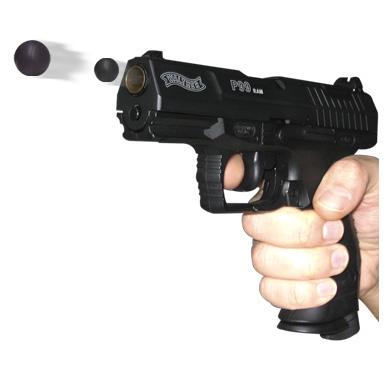 pistolet paintball bille caoutchouc