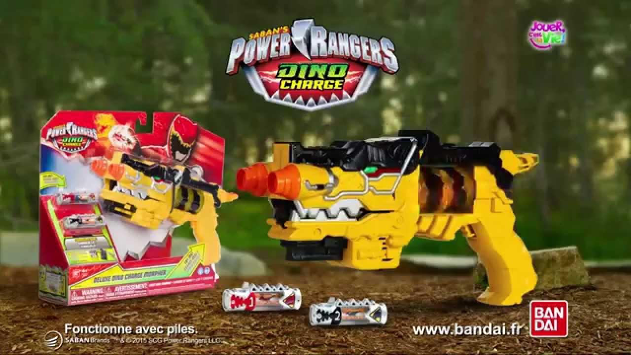 pistolet power rangers dino