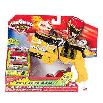pistolet power rangers jaune