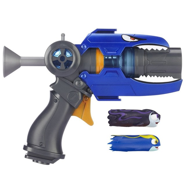 pistolet slugterra bleu