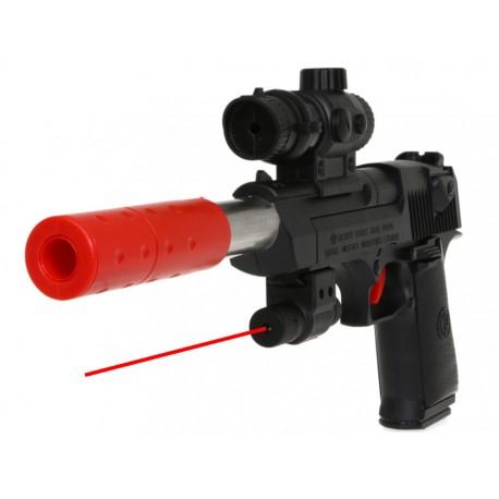 pistolet tir laser
