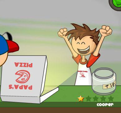 pizzeria jeux