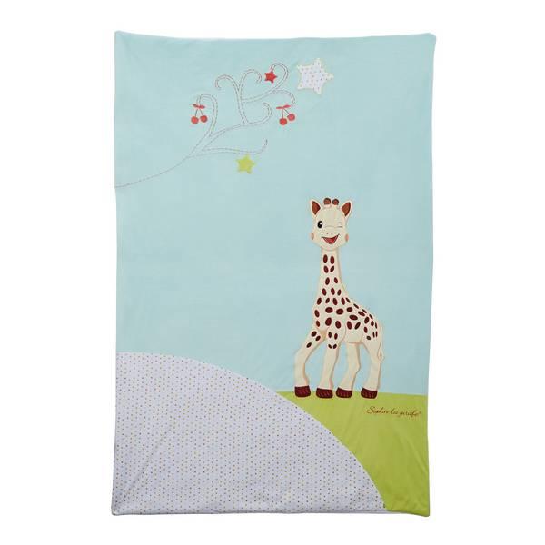 plaid sophie la girafe