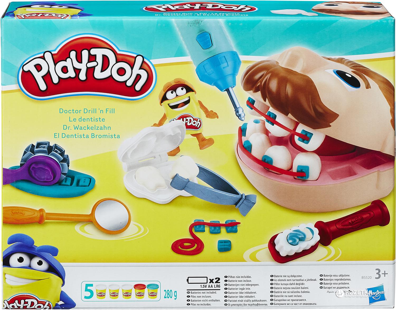play doh le dentiste