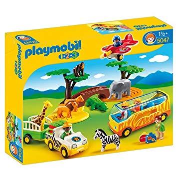 playmobil 123 animaux de la savane