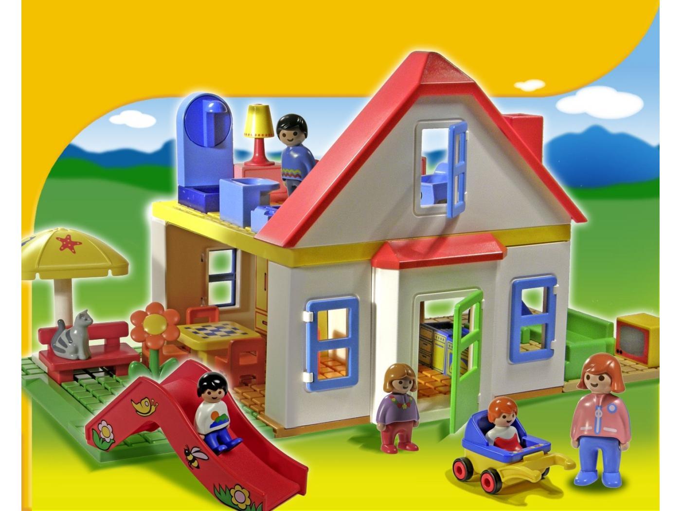 playmobil 123 coffret grande maison