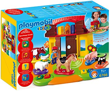 playmobil 123 ferme interactive