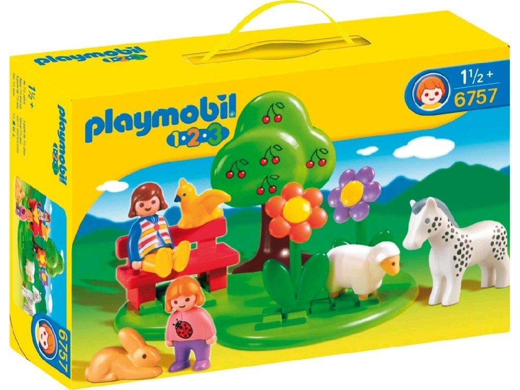 playmobil 123 fille