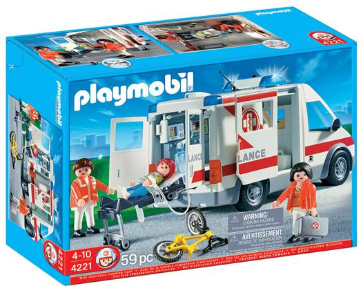 playmobil 4221 ambulance