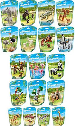 playmobil animaux du zoo