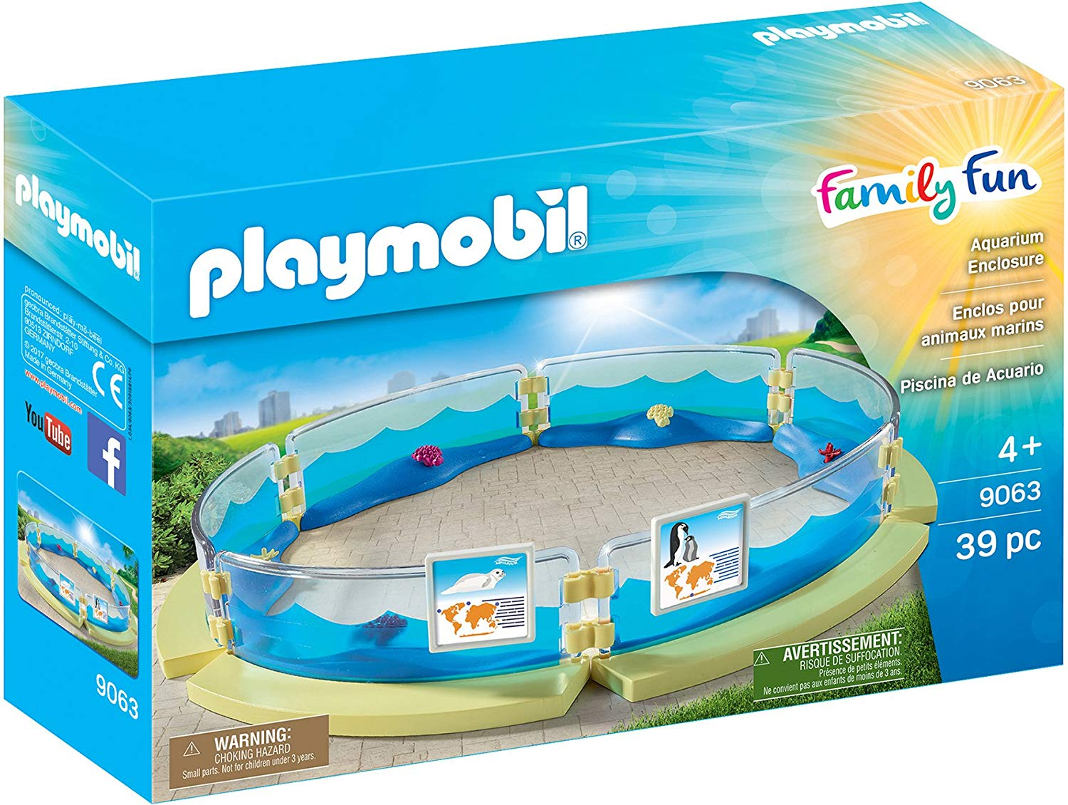 playmobil animaux marins