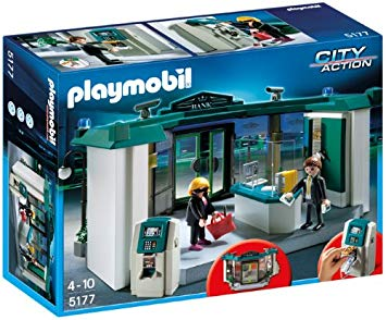 playmobil banque