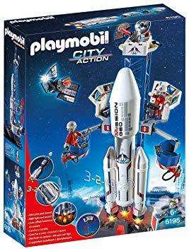 playmobil base de lancement