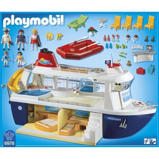 playmobil bateau croisière
